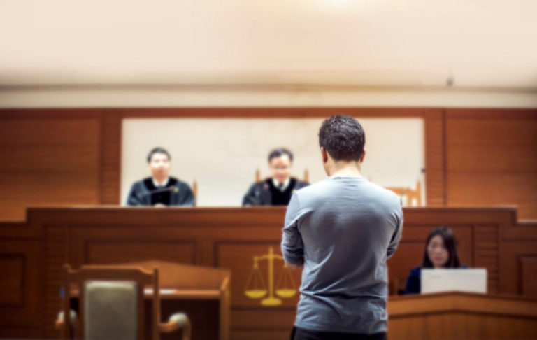 witness at the court
